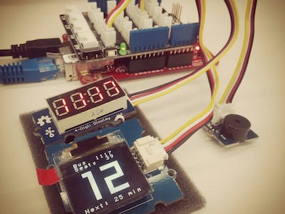 Bus Arrival Alarm based on ARM mbed WIZwiki-W7500
