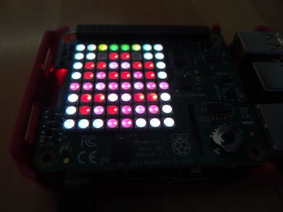 Astro Pi LED on Windows IoT