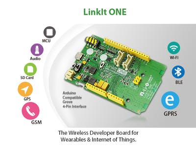 GPS datalogger with Linkit ONE