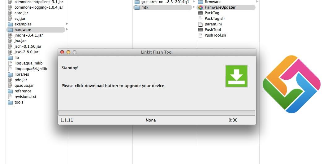 Updating Linkit One's Firmware