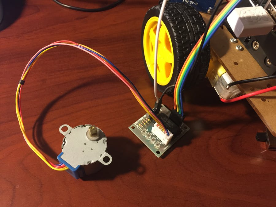 Stepper Motor from Windows 10 IoT Core