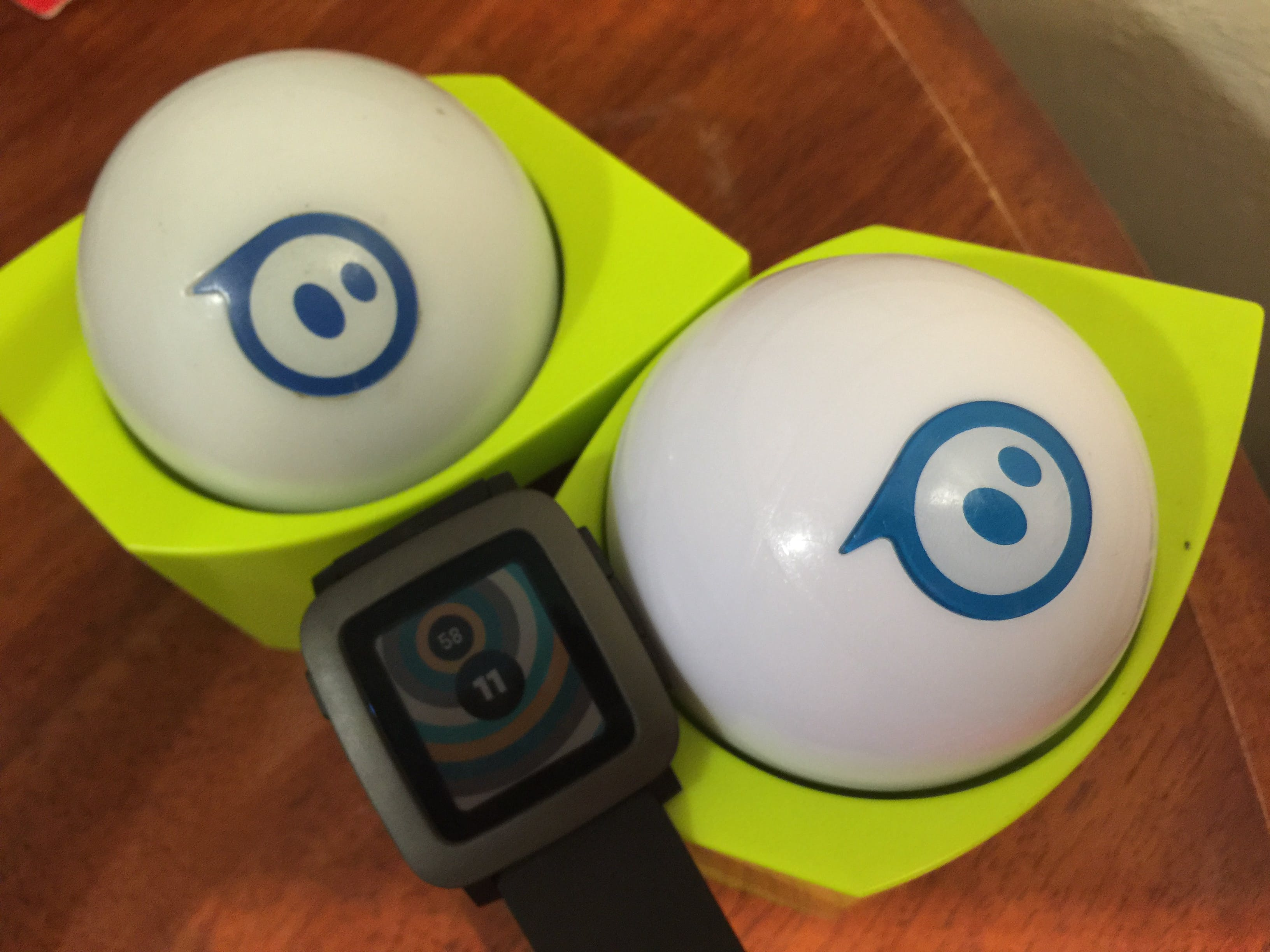 Pebble meets Sphero