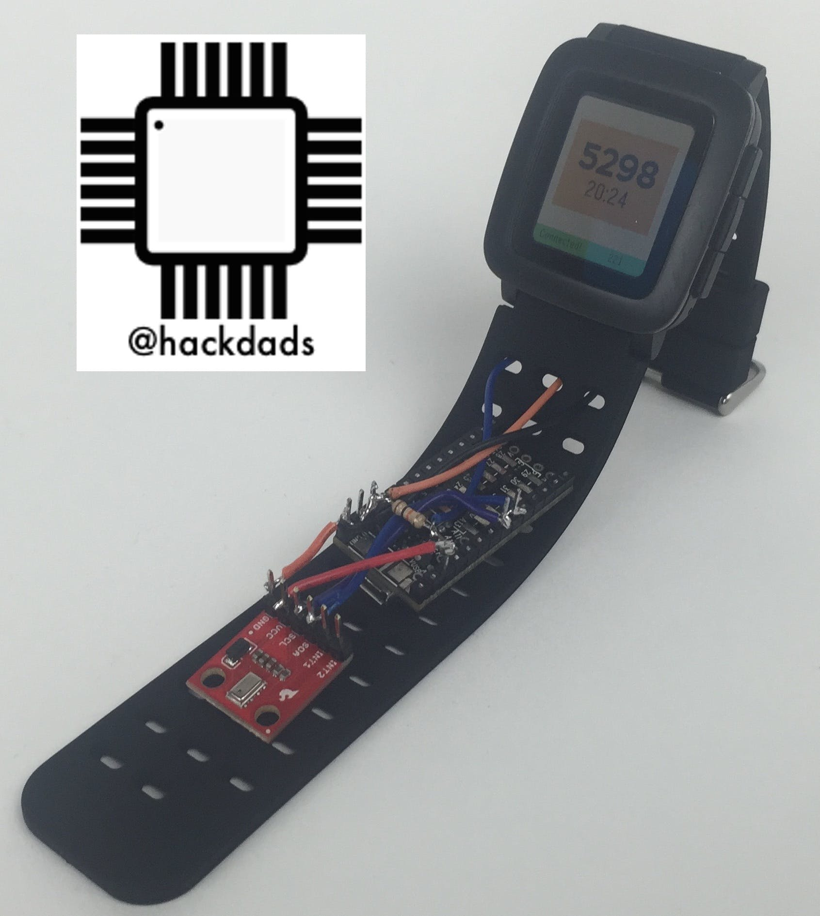 Pebble Altimeter Smartstrap