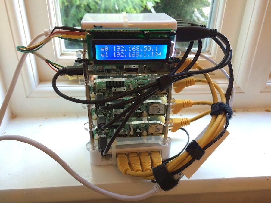 A 4-Node Raspberry PiCluster