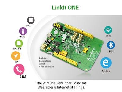 Online GPS datalogger with Linkit ONE