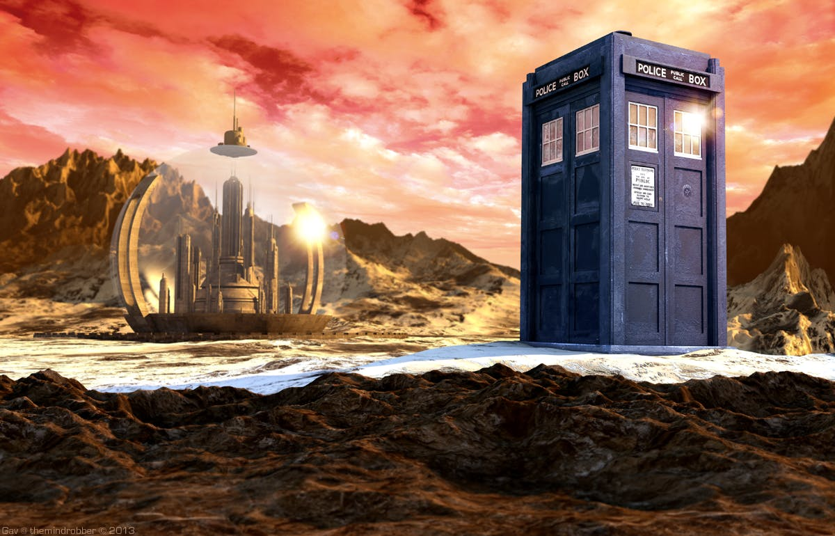 Tardis Time (GPS Over UDP - Updated)