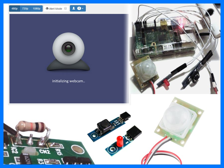 Home Monitoring with Raspberry Pi and Node.js