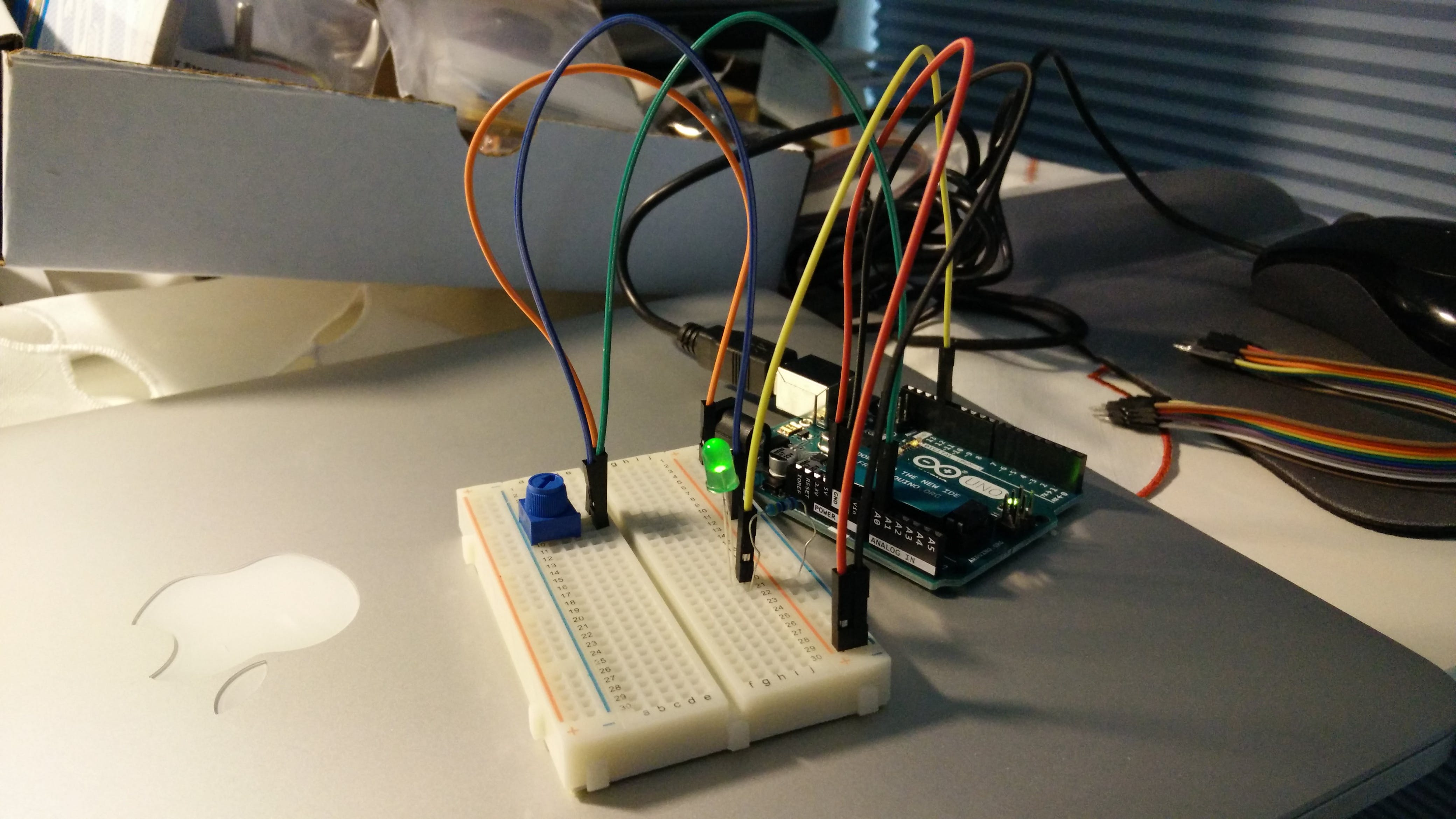 Arduino Getting Started - HW1 9/14/15