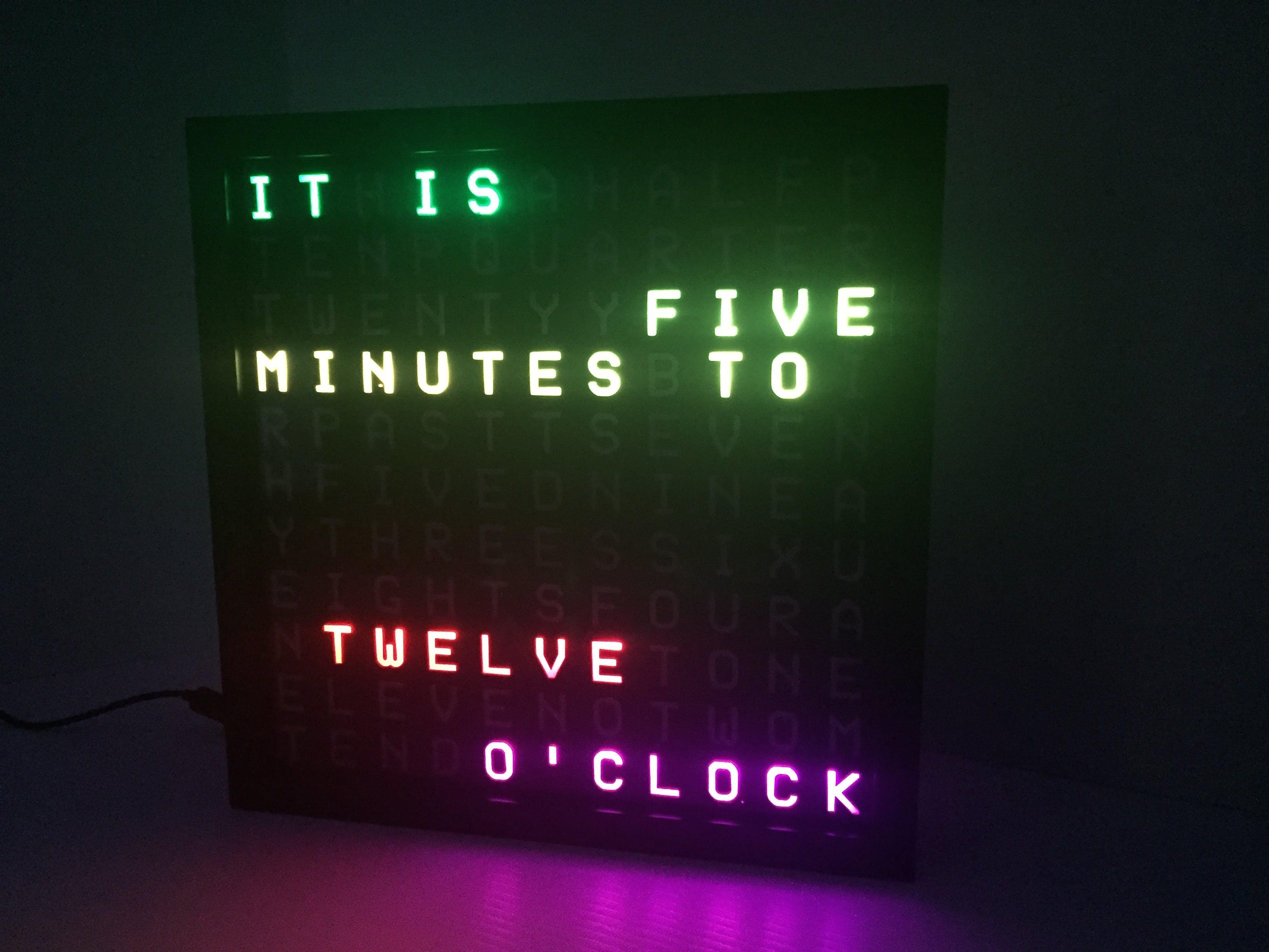 Word Clock v2