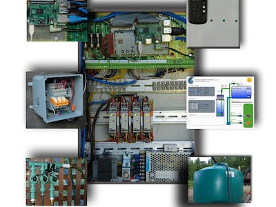 Tank Farm - Well and rain water irrigation controller