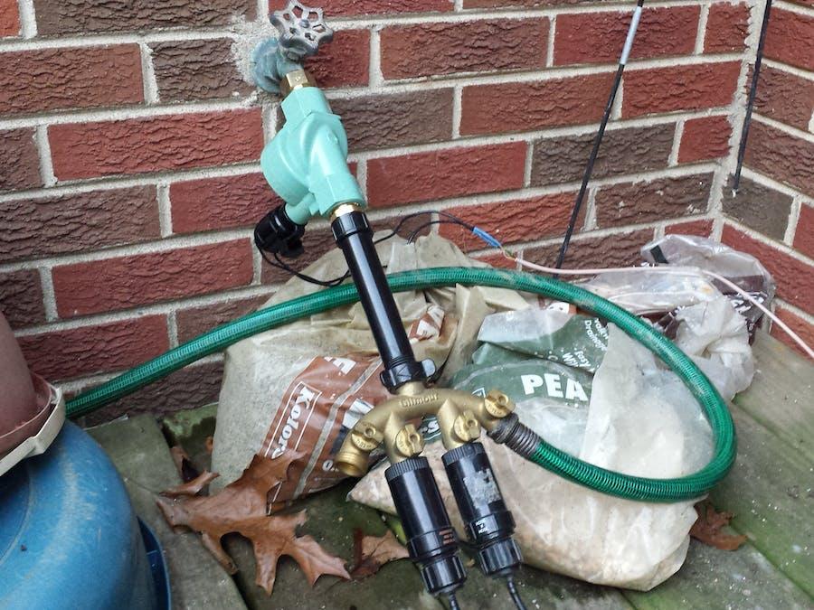 Smart Garden Drip Irrigation