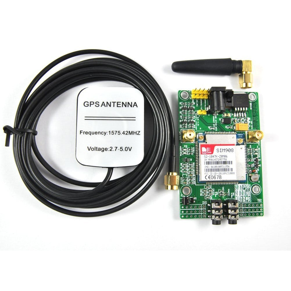 DIYmall GPRS/GPS SIM908 Module - AT Commands