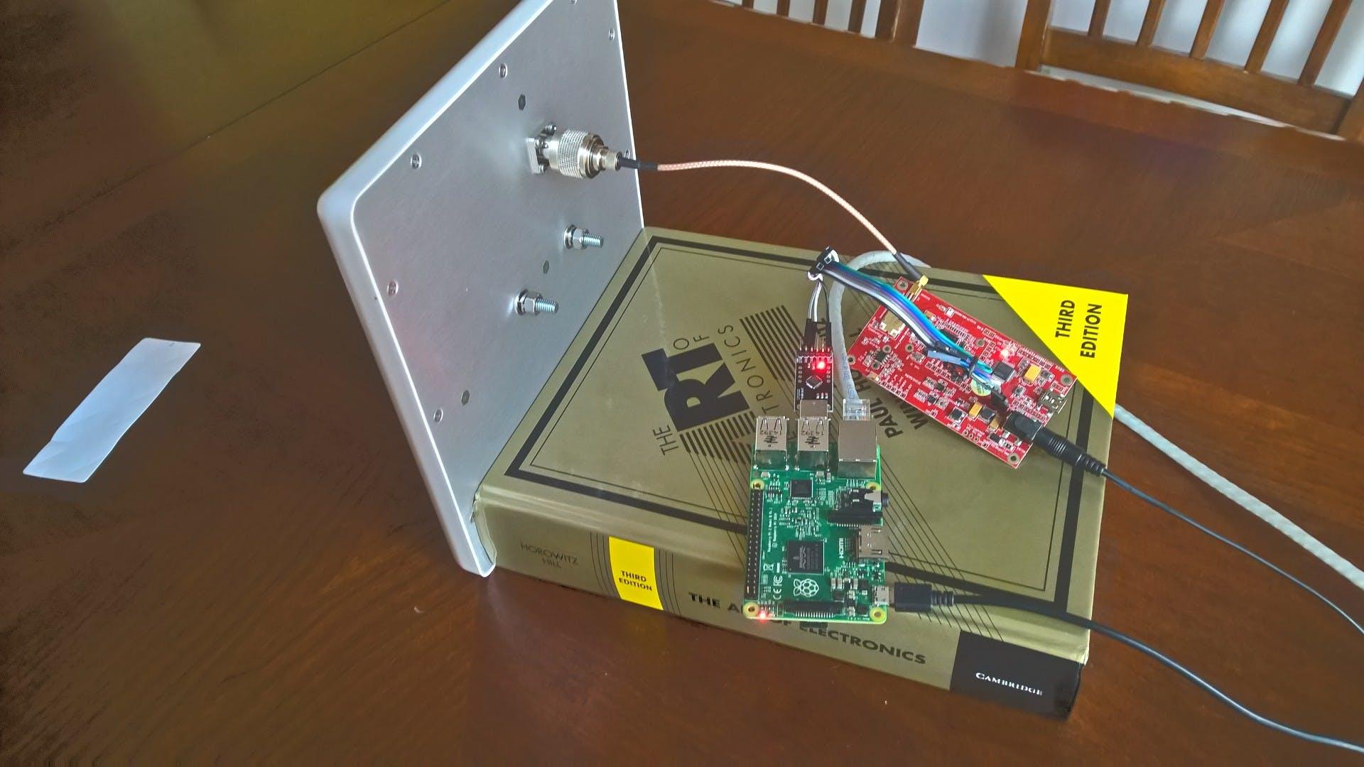 Long Range Uhf Rfid Item Tracking System Hackster Io