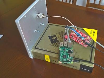 Long Range UHF RFID Item Tracking System