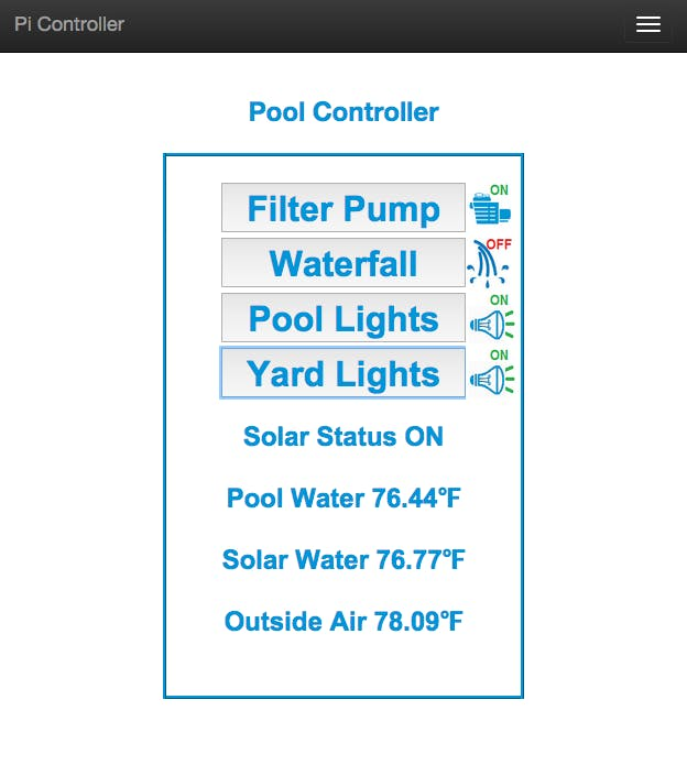 Pool Controller