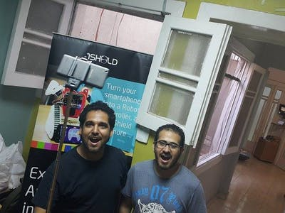 Smart Selfie Stick