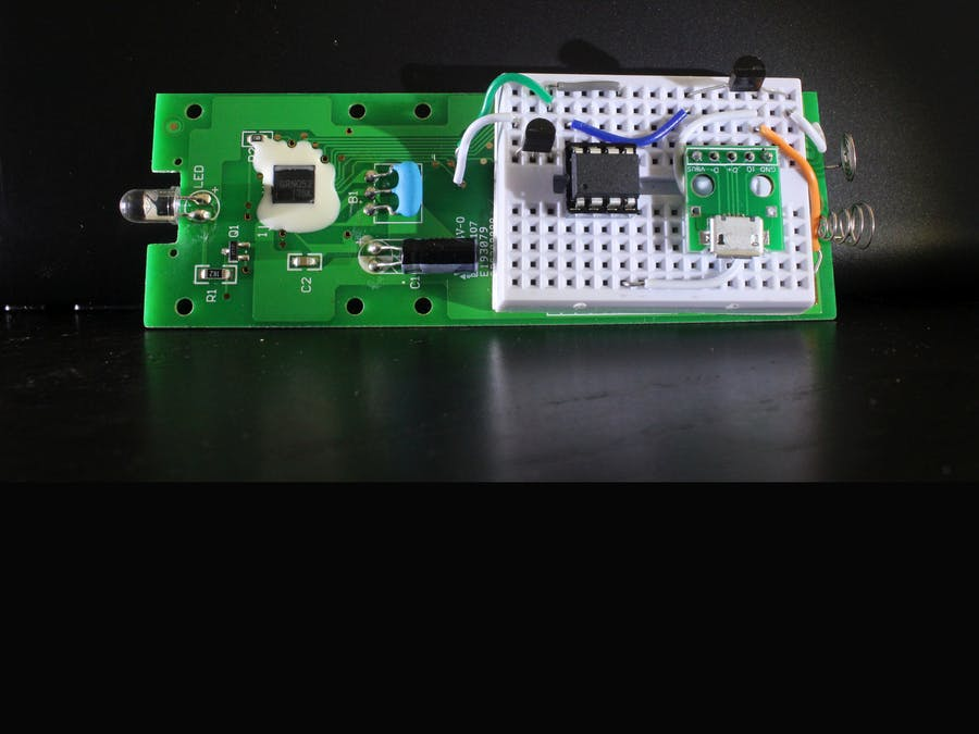 IR Controller for Air Conditioner - Arduino Project Hub