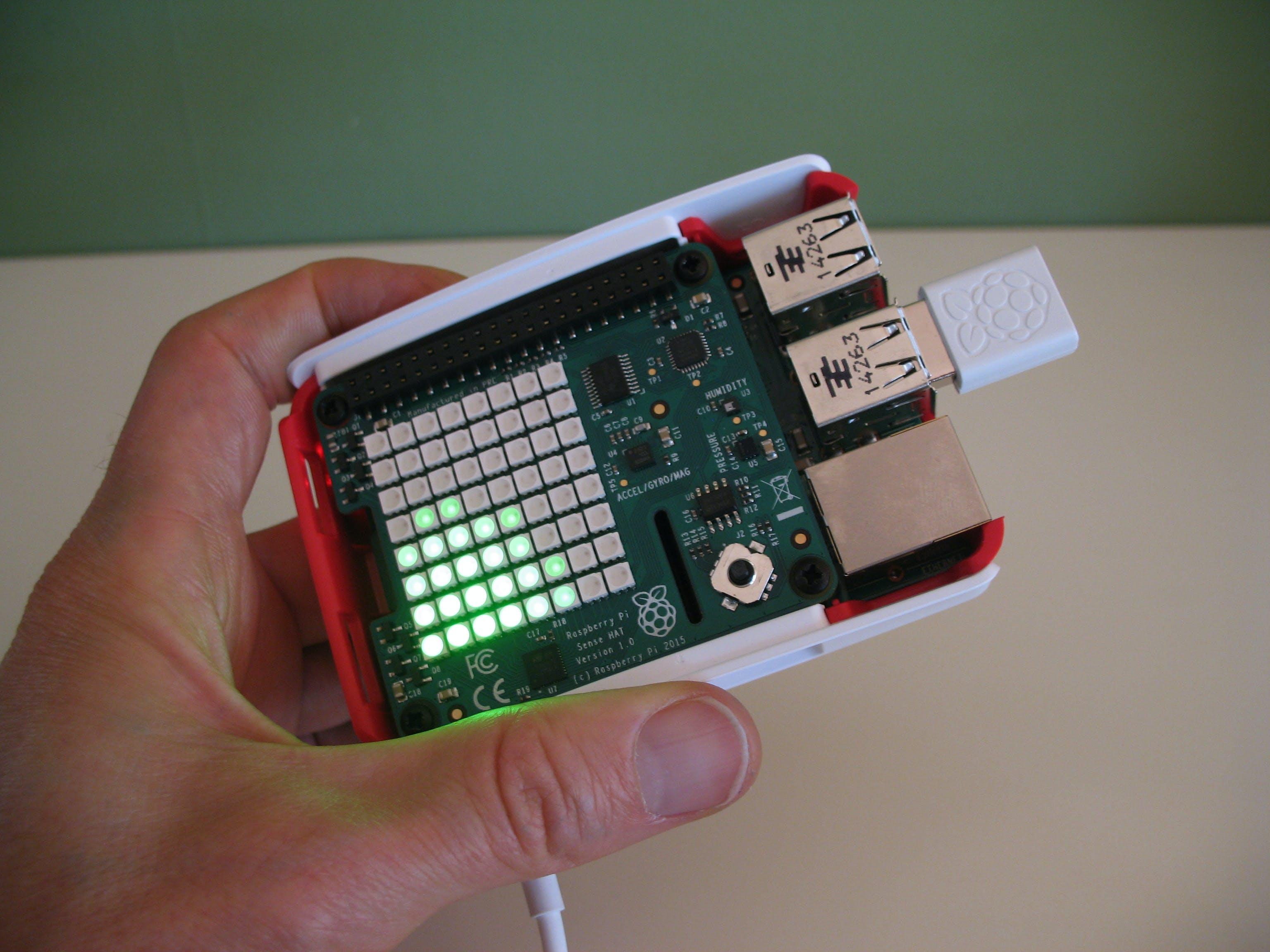 Windows IoT Raspberry Pi Sense HAT