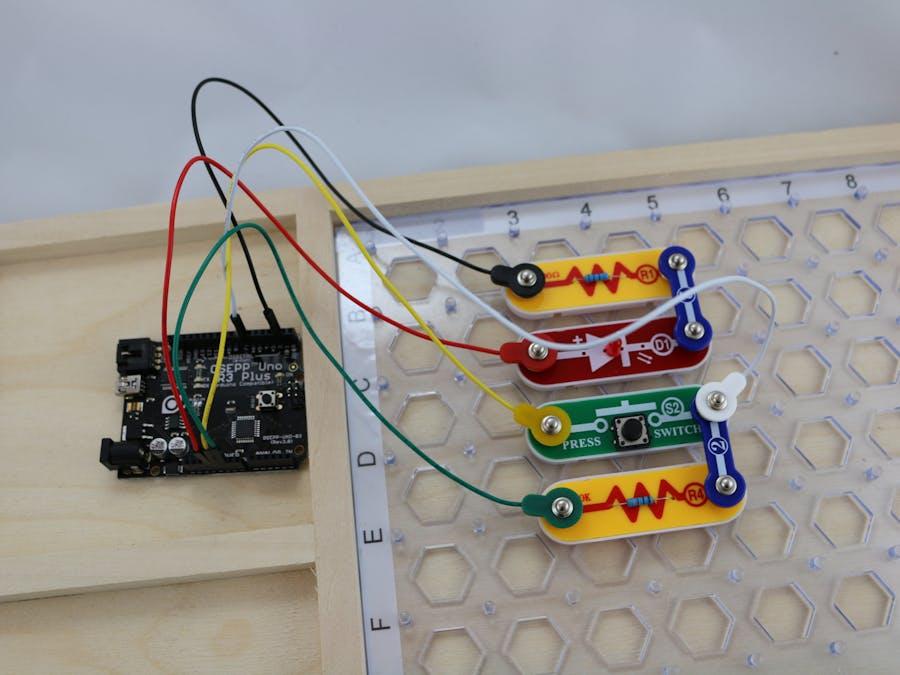 Snap Circuits® - Push Button Monitor
