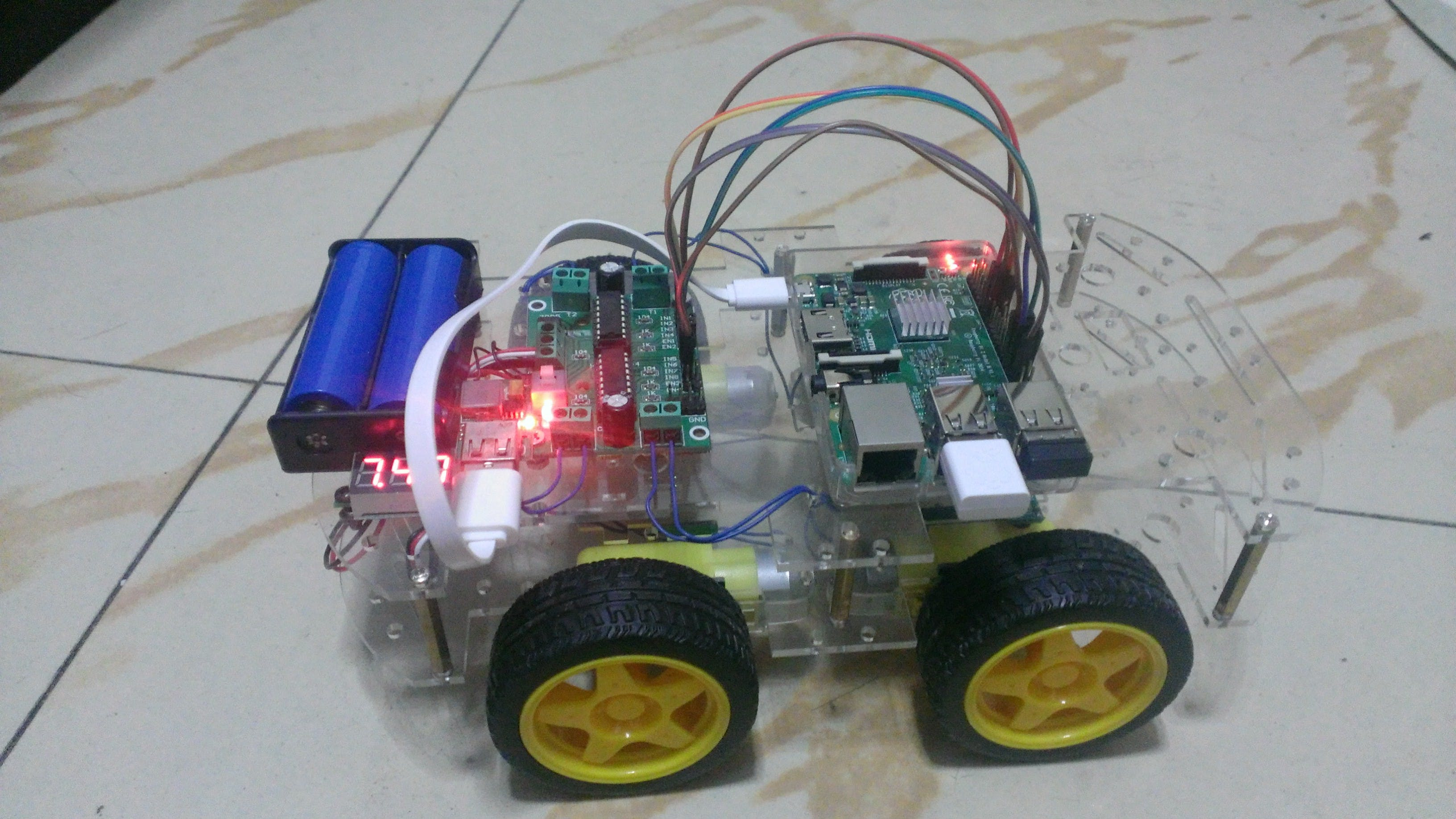 WIFI Smart Car