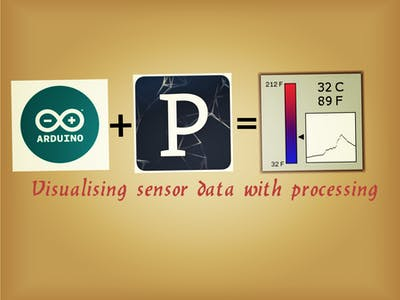 Visualising sensor data using Arduino and Processing