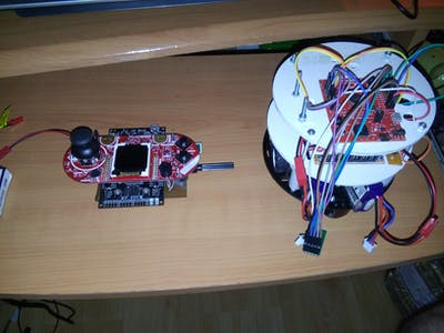 Remote Control Launchpad Robot