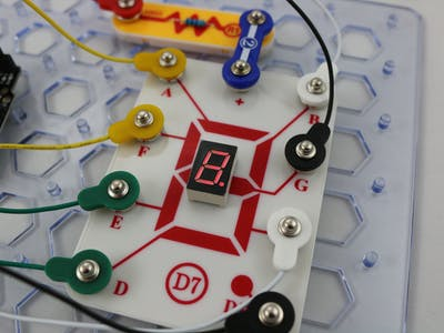 Snap Circuits® - Seven Segment Display
