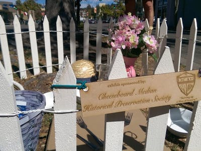 Cheeseboard Median Historical Preservation Society