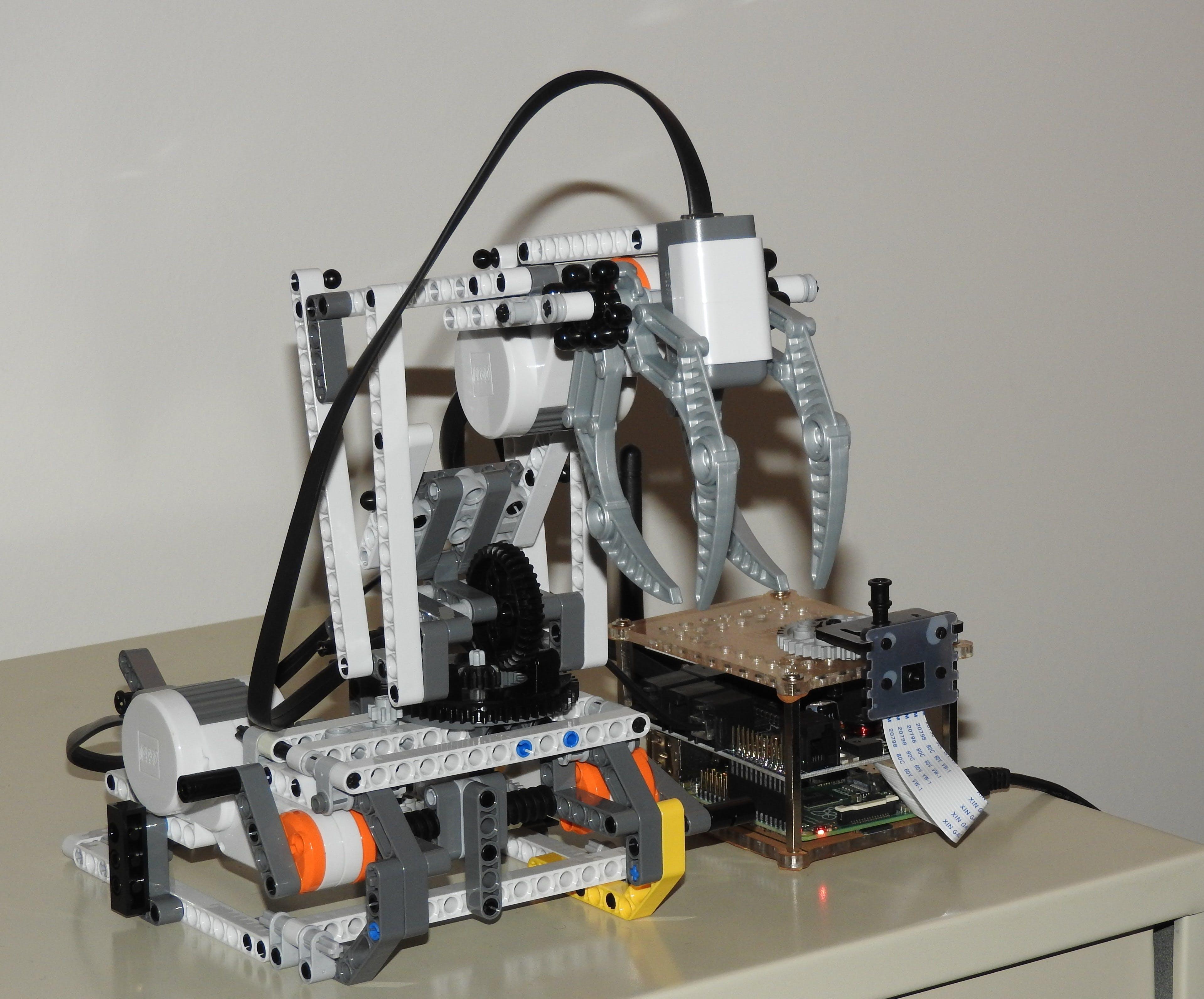 BrickPi Robotic Arm