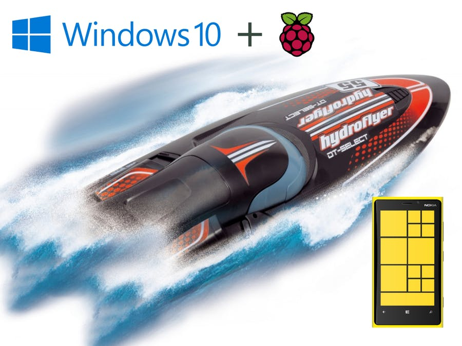Windows 10 IoT Core : Hydroflyer