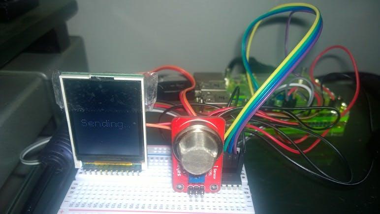 Windows IoT Core Breathalyzer