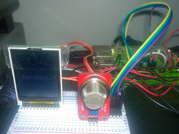 Windows IoT Core Breathalyzer