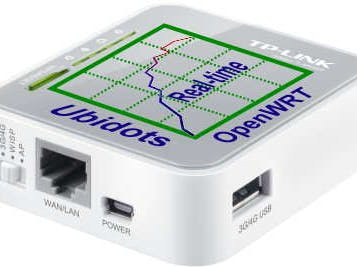 OpenWRT router + Ubidots = Real-time data monitoring