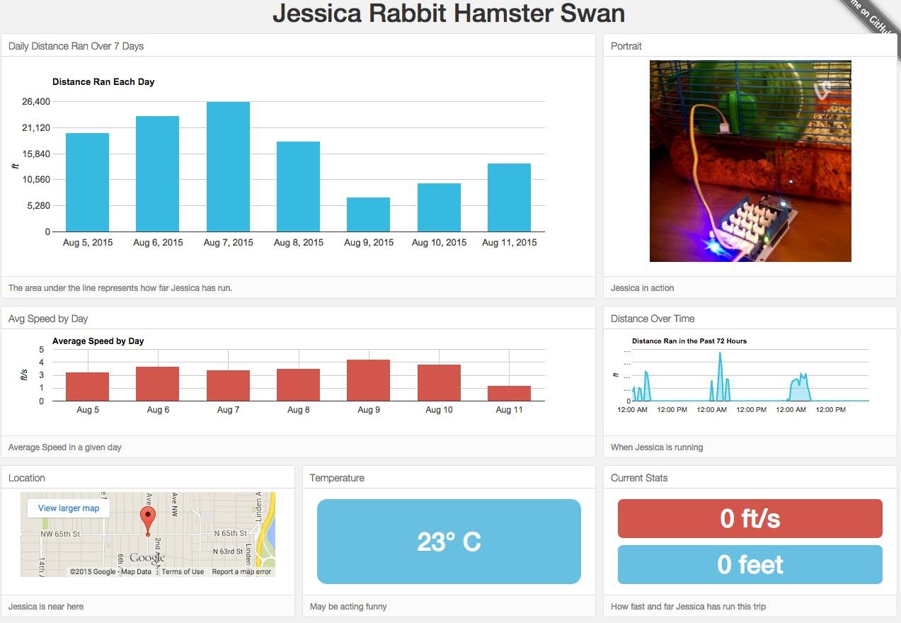 Hamster Fitness Tracker