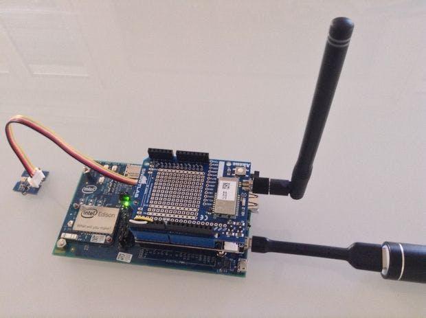 Connected Light Sensor