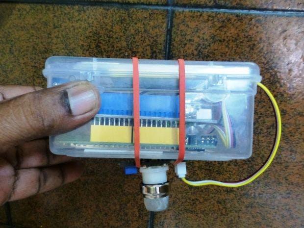 LPG / Biogas Detection System With MediaTek LinKIt One