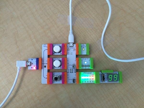 Quick, start! A quickstart project for LittleBits Arduino