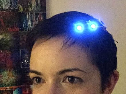 Wearable Neopixel Sparkle