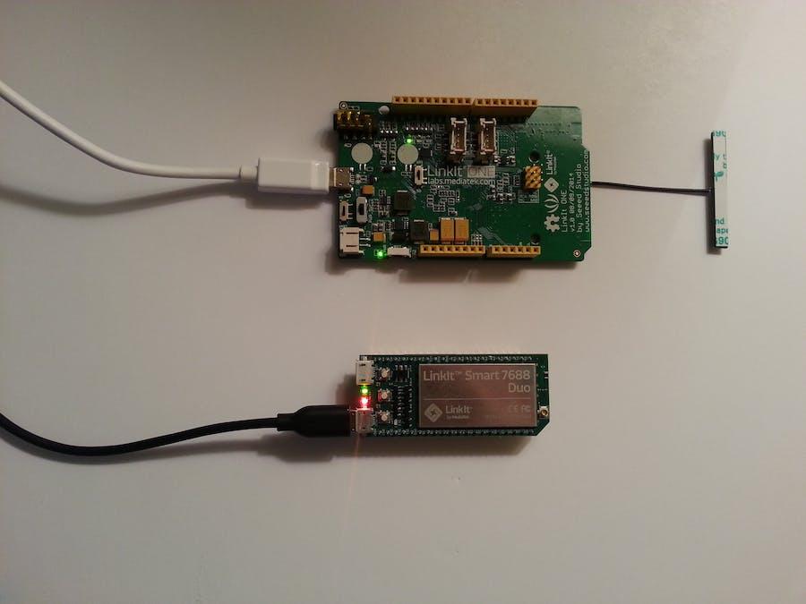 Linkit SMART/ONE sensor monitoring