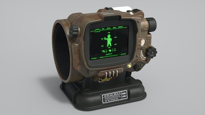 Functional Pip-boy 3000 Mk4 from Fallout 4