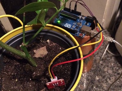 The Quantified Cactus: An Easy Plant Soil Moisture Sensor