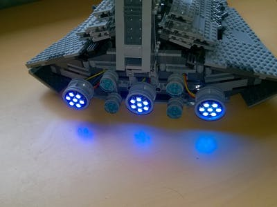 Star Wars Lego with NeoPixel LEDs