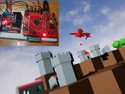 Bombing Using Leapmotion and DIY Power Glove
