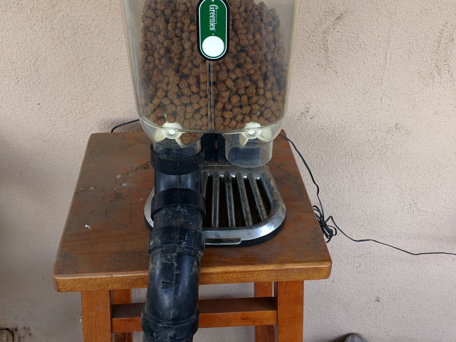 ESP8266 Automated Dog Feeder using Pebble Watch and more.