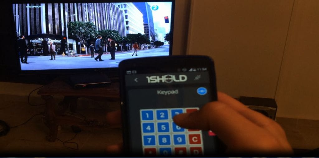 Universal Remote Control using Arduino, 1Sheeld and Android