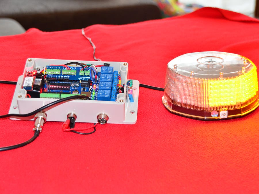 Bluetooth TFS Build LED strobe light