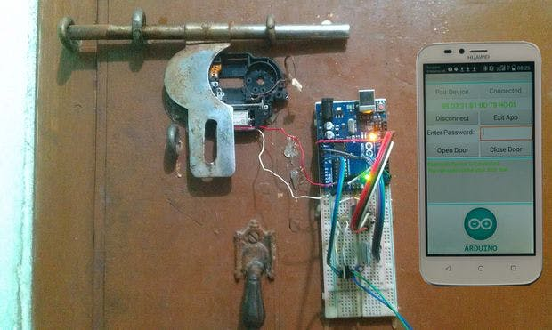 Arduino and Android Based Bluetooth Password Lock
