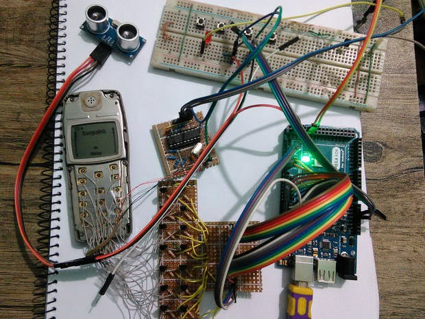 My Old Phone + Arduino = Phonoduino - ster.io Nokia Schematic on