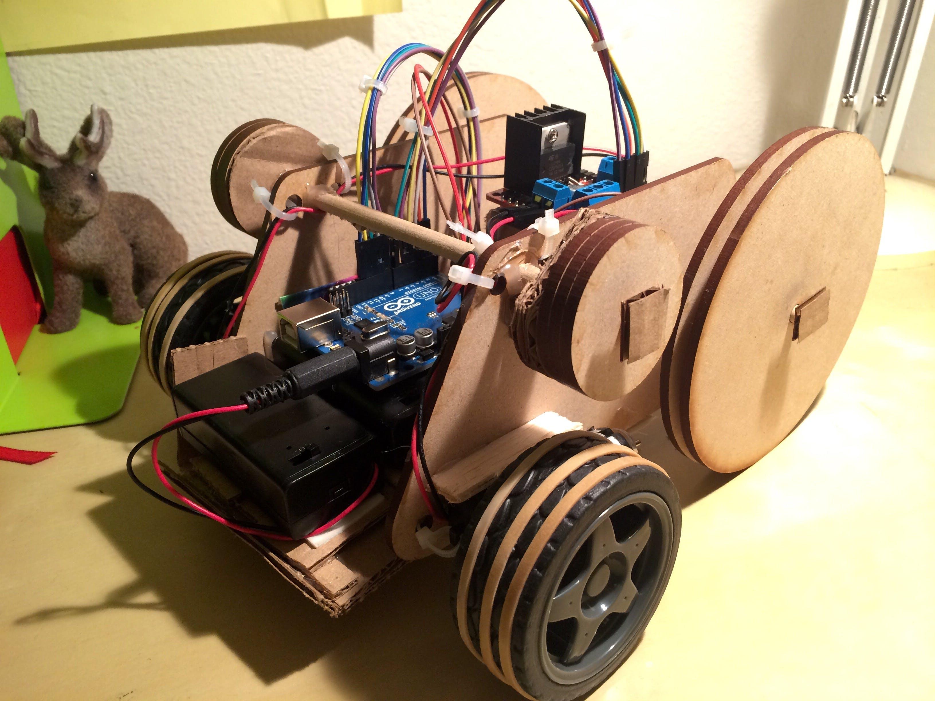 Homework 7: Bluetooth controlled vehicle