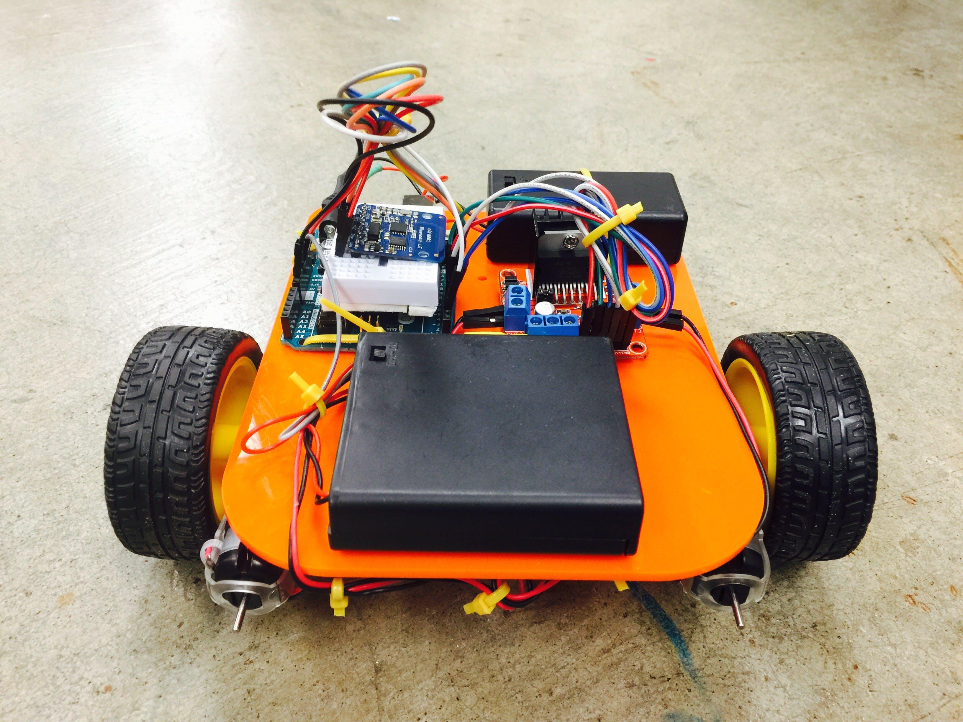 HW 7: Bluetooth-Controlled Car